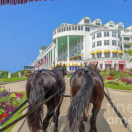 Grand Hotel Mackinac Island Michigan -4588 by Norris Seward