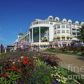Grand Hotel Mackinac Island Summer by Rachel Cohen