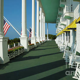 Grand Hotel Porch by Rachel Cohen