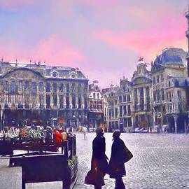 Grand-Place in Brussels by Christina Ford