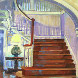 Grand Staircase by Pamela Wilde