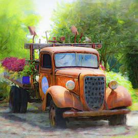Grandmas Old Truck by Diane Lindon Coy