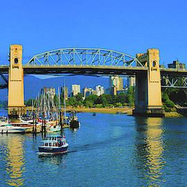 Granville Island Vancouver, British Columbia, Canada by Ola Allen