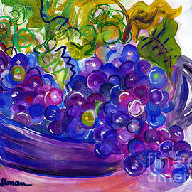 Grapes by A Hillman
