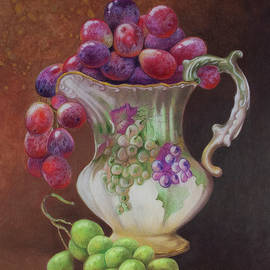 Grapes, Grapes and More Grapes by Teresa Frazier