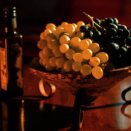 Bowl of Grapes by Cassi Moghan
