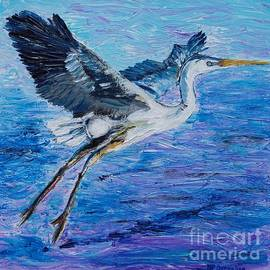 Great Blue Heron Impressions by Patty Donoghue