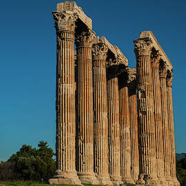 Greek Temple of Zeus by Cassi Moghan