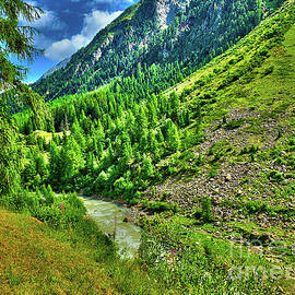Green Alpine Ambience by Bumsable