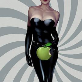Green Apple Swirl by Udo Linke