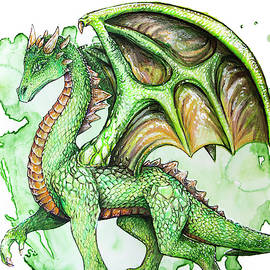 Green Dragon by Aaron Spong