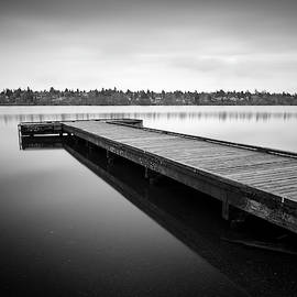 Green Lake Dock by William Dunigan