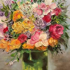 Green Vase by Marina Wirtz