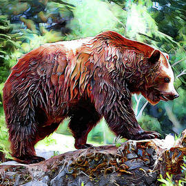 Grizzly Bear by Pennie McCracken