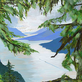 Guided Through The Fjords by Lynn Hansen