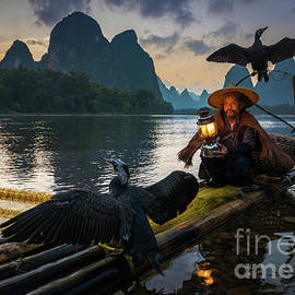 Guilin Fisherman by Inge Johnsson