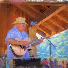 Guitar Man by Bill Posner