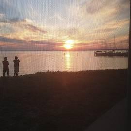 Gulf Breeze Sunset by Debra Grace Addison
