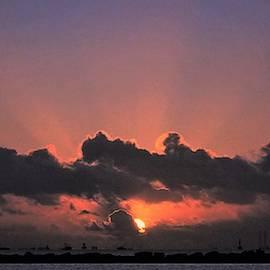 Gulf Coast Sunrise by John Glass