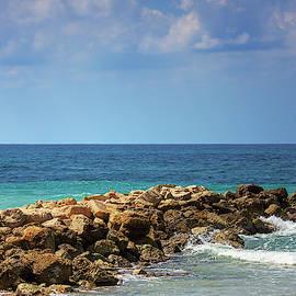 Haifa Dado Beach by Nicola Nobile