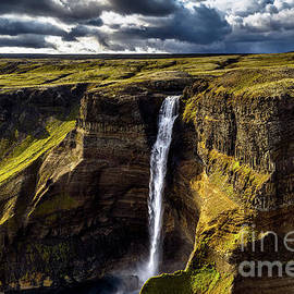 Haifoss Waterfall by Miles Whittingham