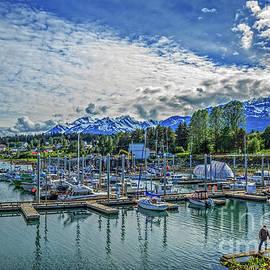 Haines Marina by Robert Bales