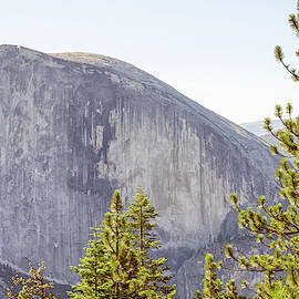 Half Dome From North Dome #1 by Joseph S Giacalone