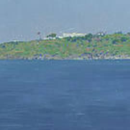 Halicarnassus harbor by Simon Kozhin
