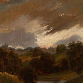 Hampstead, Stormy Sky by John Constable