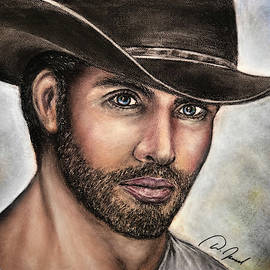 Handsome Cowboy by Walter Israel