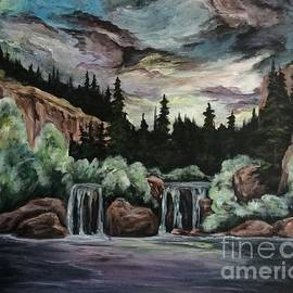 Hanging Lake Glenwood Springs CO by Cheryl Pettigrew by Cheryl Pettigrew