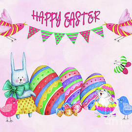 Happy Easter by Kaye Menner