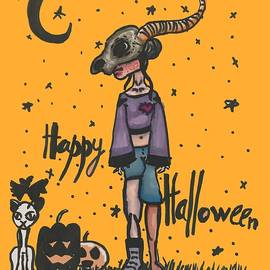 Happy Halloween by Sonya Totoro
