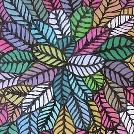 Happy Leaves 8 by Bradley Boug