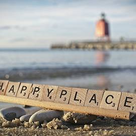 Happy Place - Beach by LuAnn Griffin