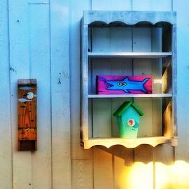 Happy Shelf with Fish by Patricia Greer