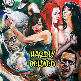 Hardly Beloved Poster B by Mark Baranowski