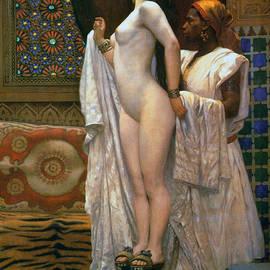 Harem After the Bath, circa 1894 by Paul Louis Bouchard