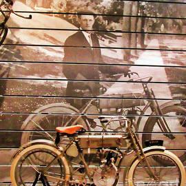 Harley 1907 Model 3 by Roberta Byram