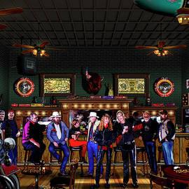 Harley Station Saloon by David Arrigoni