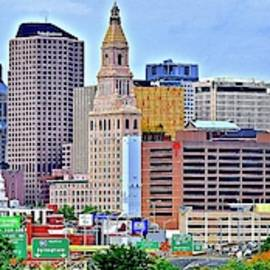 Hartford Connecticut Stretched Out by Frozen in Time Fine Art Photography