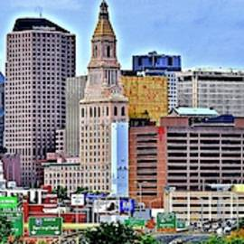 Hartford Daylight Pano by Frozen in Time Fine Art Photography