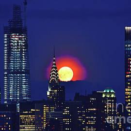 Harvest Moon NYC #1 by Regina Geoghan