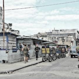 Havana Street Corner by Toni Abdnour