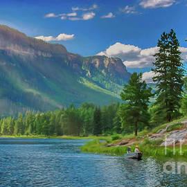 Haviland Lake by Janice Pariza