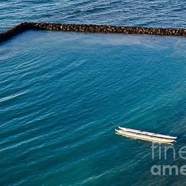 Hawaiian White Canoe by Debra Banks
