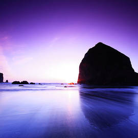 Haystack Rock by Jayson Colomby