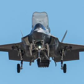 Head-On F-35B Stealth Fighter by Erik Simonsen