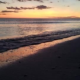 Healing Sunset Beach by Josefina Henselin