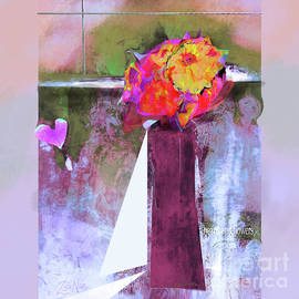 Hearts and Flowers Love at First Light  Series   No 4  by Zsanan Studio